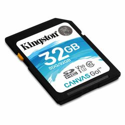 Kingston Canvas Go Secure Digital SDHC UHS-I U3 32GB | Class 10, rýchlosť až 90MB/s (SDG/32GB)