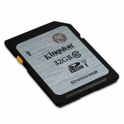 Kingston Secure Digital SDHC UHS-I 32GB | Class 10, rýchlos� až 45MB/s
