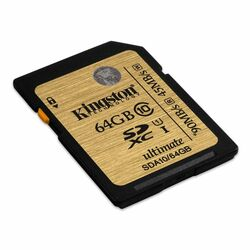 Kingston Secure Digital SDXC UHS-I 64GB | Class 10, rýchlos� až 90MB/s