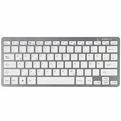 Klávesnica Speed-Link Libera Bluetooth pre Acer Iconia One 8 - B1-820, EN, Silver/White