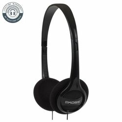 Koss KPH7 Colors On-Ear Headphones, black