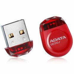 Miniatúrny USB kľuč A-DATA UD310, 16 GB, USB 2.0, Red