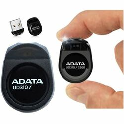 Miniatúrny USB kľuč A-DATA UD310, 64 GB, USB 2.0, Black