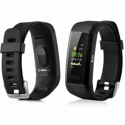 NiceBoy X-Fit GPS - fitness náramok, Black
