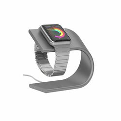 Nomad Stand stojan pre Apple Watch, Silver
