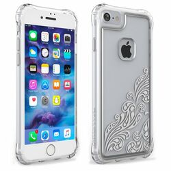 Odolné puzdro Ballistic Jewels Essence Whispers pre Apple iPhone 7, Silver