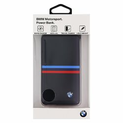 PowerBank 4800 mAh - BMW Tricolor Stripes, 1x USB, Black