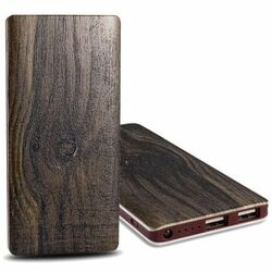 PowerBank FY-P20 - 10 000 mAh, wood - Dark