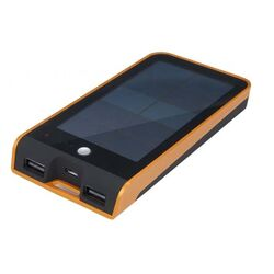 PowerBank Xtorm Basalt Solar, 3000 mAh, Black/Orange