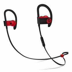 Powerbeats3 Wireless Earphones - The Beats Decade Collection, defiant black-red