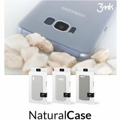 Puzdro 3mk NaturalCase pre Apple iPhone SE, iPhone 5S a iPhone 5, White