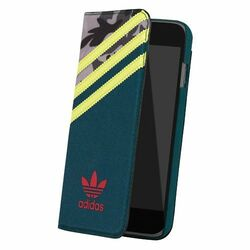Puzdro Adidas Originals - Booklet pre Apple iPhone 6 a 6S, Oddity Yellow