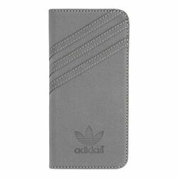 Puzdro Adidas Originals - Booklet pre Apple iPhone 6 a Apple iPhone 6S, Grey