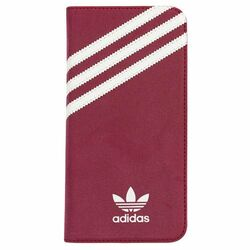 Puzdro Adidas Originals - Booklet pre Apple iPhone 6 a Apple iPhone 6S, Red/White