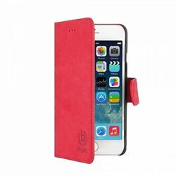 Puzdro Bugatti BookCover Madrid pre Apple iPhone 6 Plus, red