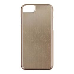 Puzdro Guess 4G Aluminium pre Apple iPhone 7 a iPhone 8, Gold