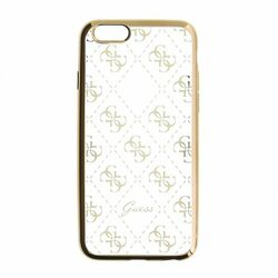 Puzdro Guess 4G pre Apple iPhone 5, Apple iPhone 5S, Apple iPhone 5 SE, Gold