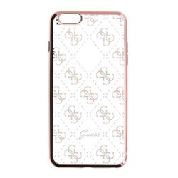 Puzdro Guess 4G pre Apple iPhone 7 a iPhone 8, Rose Gold