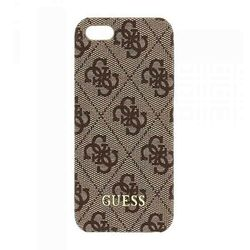 Puzdro Guess 4G Uptow pre Apple iPhone 5, Apple iPhone 5S, Apple iPhone 5 SE, Brown