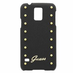 Puzdro Guess Studded pre Samsung Galaxy S5 - G900 a S5 Neo - G903, Black