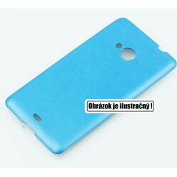 Puzdro Jelly Leather pre Microsoft Lumia 535, Blue