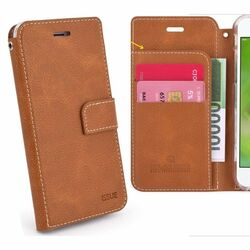 Puzdro Molan Cano Issue Book pre Xiaomi Mi A3, Brown