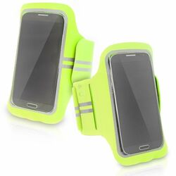 Puzdro na rameno SuperFit pre Apple iPhone 5 a 5S, Lime