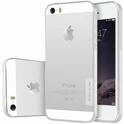 Puzdro Nillkin Nature TPU pre Apple iPhone 5S, Apple iPhone SE, Transparent