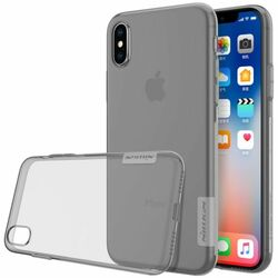 Puzdro Nillkin Nature TPU pre Apple iPhone X, Grey