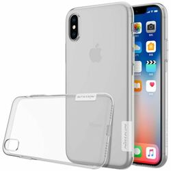 Puzdro Nillkin Nature TPU pre Apple iPhone X, Transparent