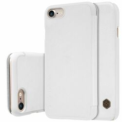 Puzdro Nillkin Qin Book pre Apple iPhone 7 a iPhone 8, White