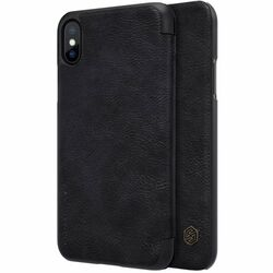 Puzdro Nillkin Qin Book pre Apple iPhone X, Black