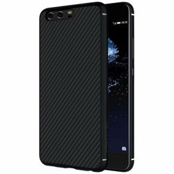 Puzdro Nillkin Synthetic Fiber pre Huawei P10, Black Carbon