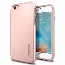 Puzdro Spigen Thin Fit Hybrid pre Apple iPhone 6 a 6S, Rose Gold