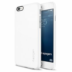 Puzdro Spigen Thin Fit pre Apple iPhone 6 a 6S, Smooth White