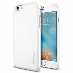 Puzdro Spigen Thin Fit pre Apple iPhone 6S, Shimmery White