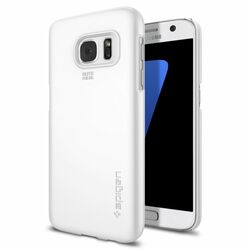Puzdro Spigen Thin Fit pre Samsung Galaxy S7 - G930F, Shimmery White