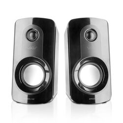 Reproduktory Speedlink Veos Stereo Speakers, black