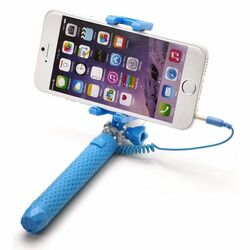 Selfie maker Celly Mini s 3,5mm jackom, Blue