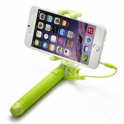 Selfie maker Celly Mini s 3,5mm jackom, Lime