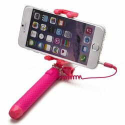 Selfie maker Celly Mini s 3,5mm jackom, Pink