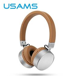 Stereo Bluetooth Headset USAMS LH, Brown