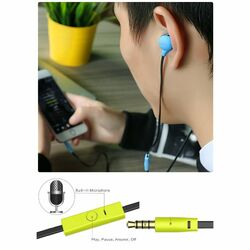 Stereo Headset USAMS Ewave s 3.5 mm jack konektorom, Blue