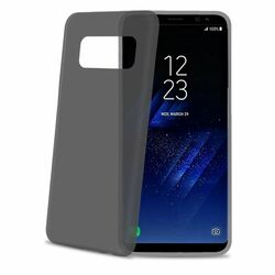 Ultra tenké 0,29 mm TPU puzdro CELLY Frost pre Samsung Galaxy S8 - G950F, Black