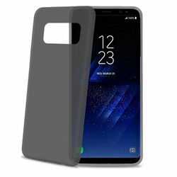 Ultra tenké 0,29 mm TPU puzdro CELLY Frost pre Samsung Galaxy S8 Plus - G955F, Black