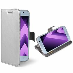 Ultra tenké puzdro Celly Air pre Samsung Galaxy A3 2017 - A320F, Silver