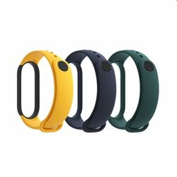 Xiaomi Mi Band 5 Strap, blue, yellow, green