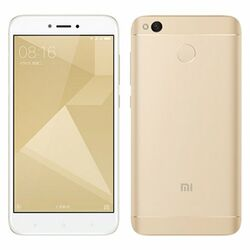 Xiaomi Redmi 4X, 16GB, Dual SIM, White/Gold