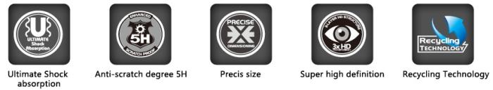 Ochranná fólie HD X ONE-Shock Absorption
